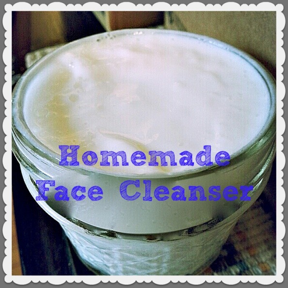 Homemade Face Cleanser